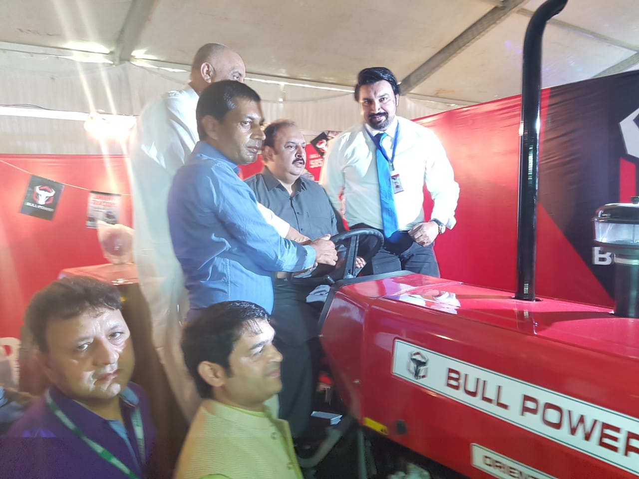 Federal Minister of Agriculture, Mr. Nauman Langrial visit at our Stall